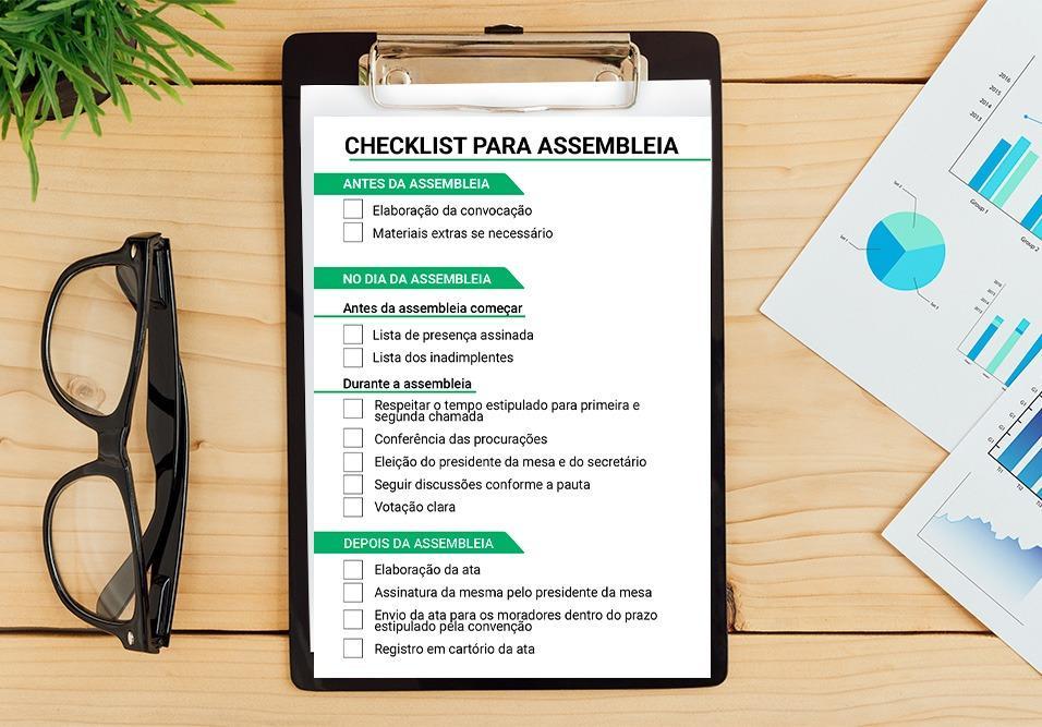 Checklist Para Assembleia Síndiconet