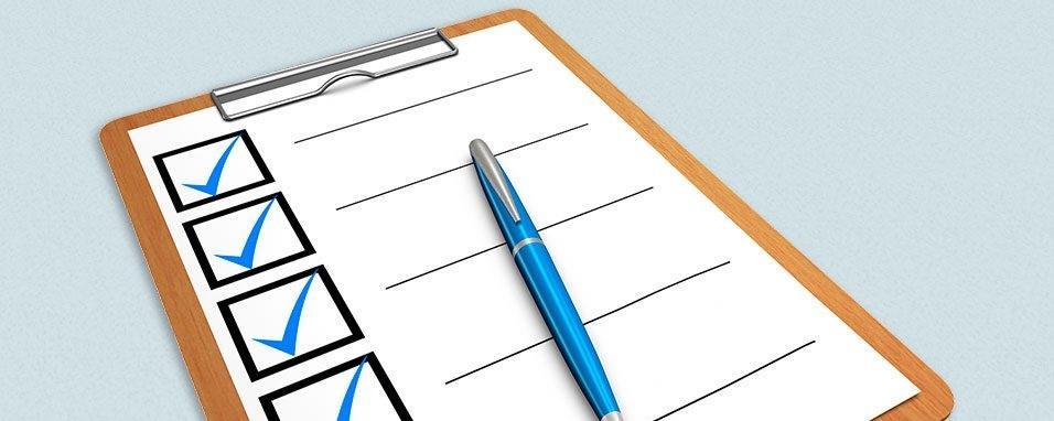 Checklist para assembleia