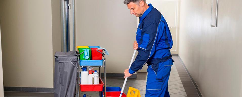 Terceirização: portaria e limpeza