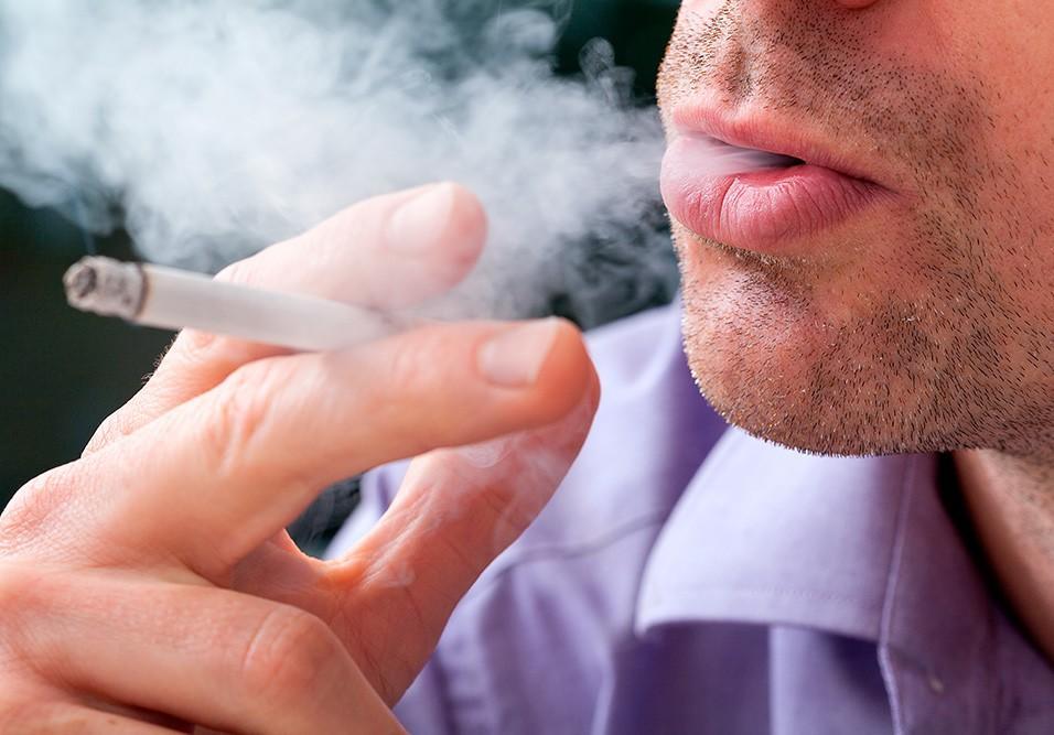 Cigarros em condomínios