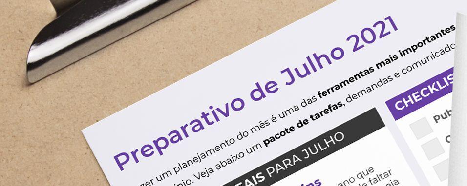 Preparativo de Julho