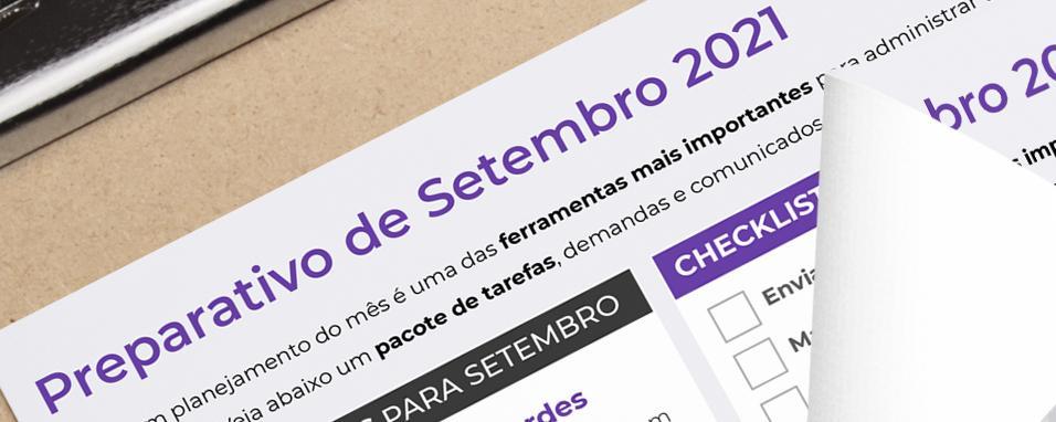 Preparativo de Setembro