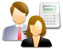 Logo da empresa athenas comercio prestação de serviços
