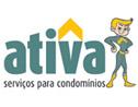 Logo da empresa Ativa Serviços para Condomínios