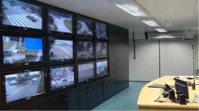 Foto - Sala de Monitoramento