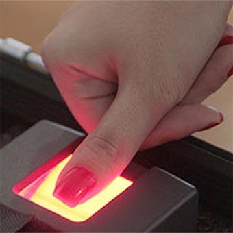 Foto - Controle de acesso biometrico