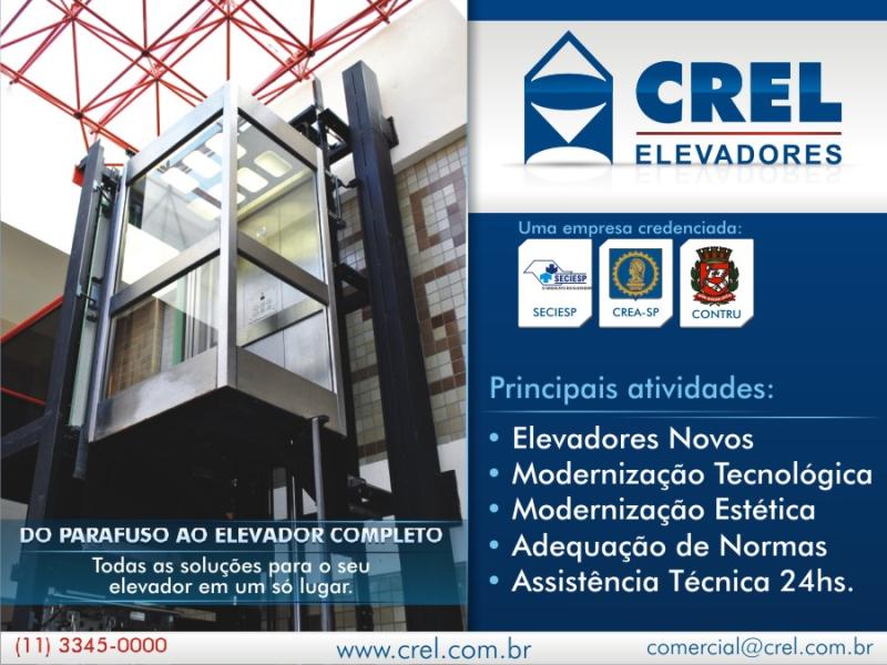 Foto - Acesse: www.crel.com.br | Email: comercial@crel.com.br | Fone: (11) 3345-0000 | Endereço: Rua do Lavapés, 793 São Paulo - SP