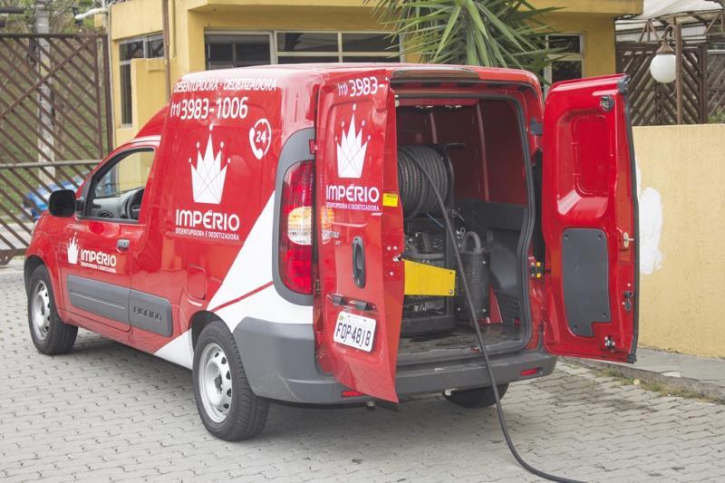 Foto - Serviço de Hidrojateamento.