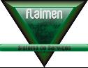 Logo da empresa Flaimen Sistema de Serviços