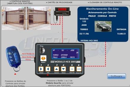 Foto - Projetos especiais em controle e acesso para condomínios, equipamentos especiais que visão evitar arrastões e clonagem de controles