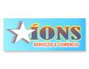 Logo da empresa Íons Serviços e Comércio