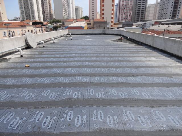 Foto - Impermeabilização 3 M distribuidora nova filial Mooca