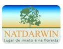 Logo da empresa Natdarwin Dedetização Natural
