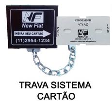 Foto - Trava para carrinho de compras sistema cartão