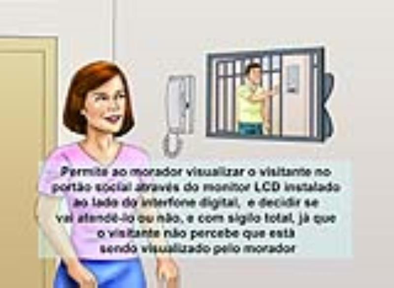 Foto - VIDEO PORTEIRO