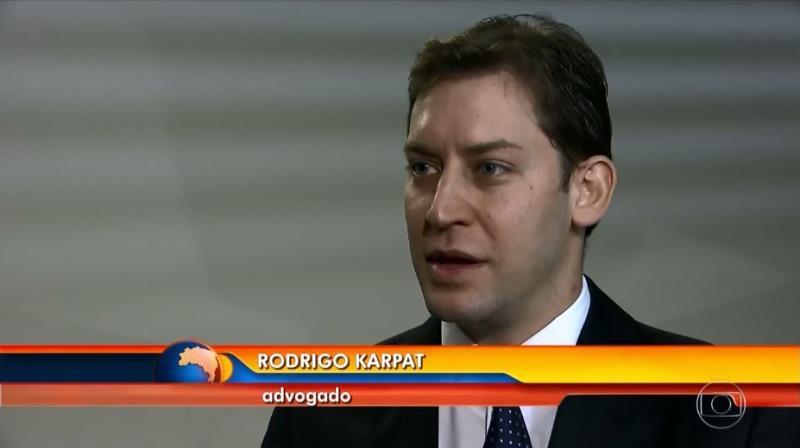 Foto - Participação do Dr. Rodrigo Karpat no BOM DIA BRASIL (Rede Globo).