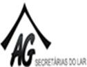Logo da empresa AG secretarias do lar