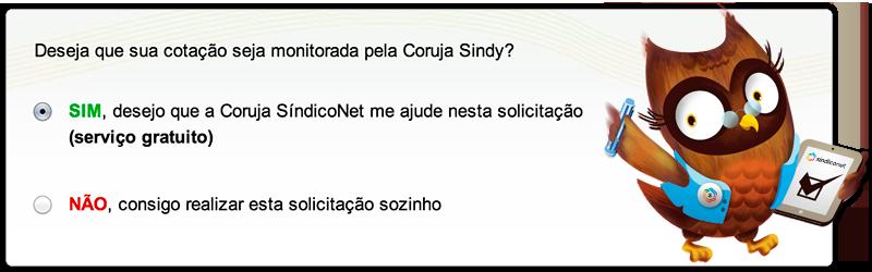 Cotação Coruja Sindy