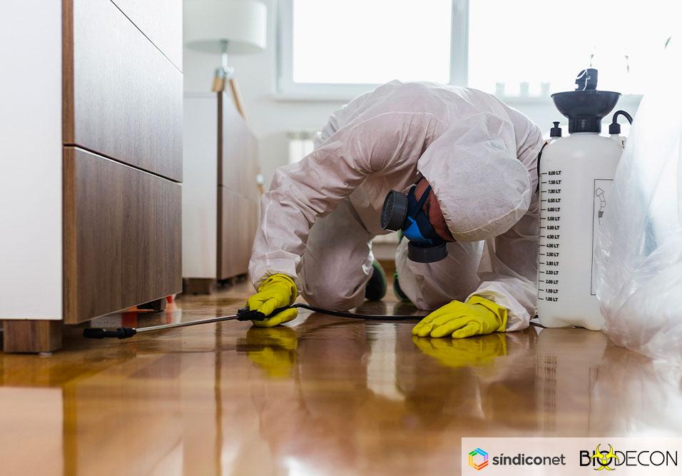 Desinfecção de Condomínios – COVID-19