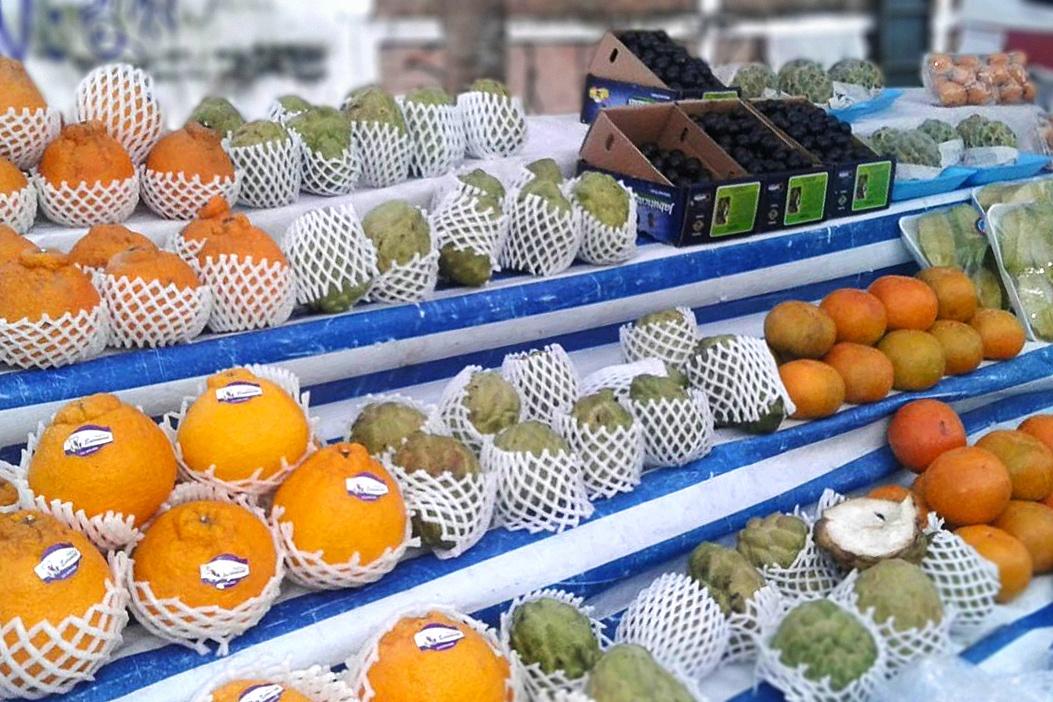foto feira premium frutas